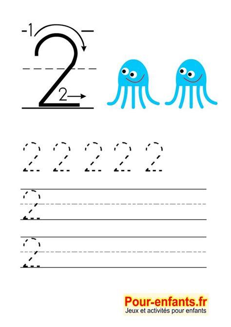 apprendre 224 233 crire les chiffres en maternelle gratuit cahier d 233 criture 224 imprimer gratuitement
