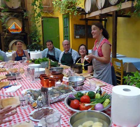greek cooking classes   taverna  athens