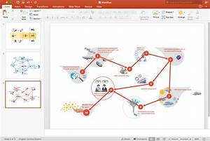 Create Powerpoint Presentation With A Workflow Diagram