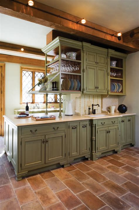 moss green kitchen cabinets unexpected pop of color kitchen cabinets how to nest