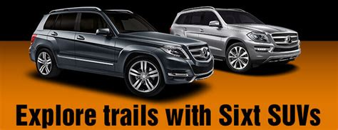 Mid Size And Full Size Suv Rental Sixt Rent A Car