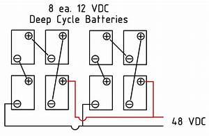 wiring diagram 48 volt 8 battery system 39 wiring With 24 volt solar panel wiring series