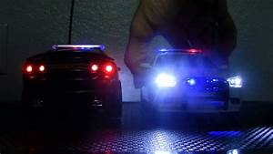 Picture Of Police Car With Lights Custom 1 24 Scale Rc 2012 Dodge Charger Police Cars Youtube