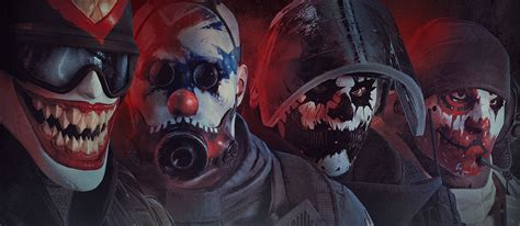 siege eveil scary clown set rainbow six siege updates
