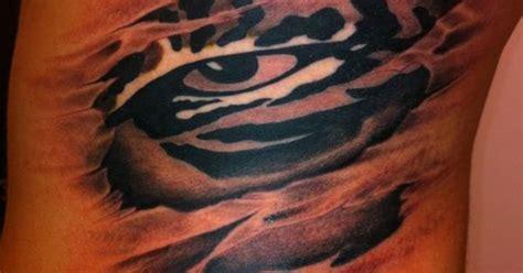 tattoo  lsu eye   tiger   twist