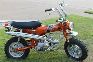 Restored Honda CT70 - 1970 Photographs at Classic Bikes ...
