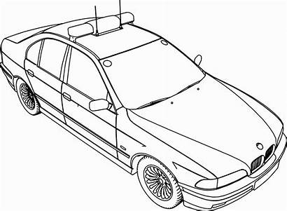 Coloring Pages Bmw Police Cars F1 Sheets