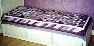 Couvre Lit Patchwork : couvre lit violine photo de patchwork virgotte et bouts d 39 chiffon ~ Teatrodelosmanantiales.com Idées de Décoration
