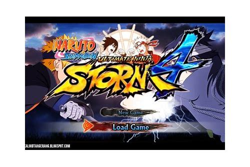 download naruto ninja storm 3 psp