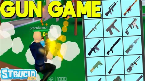 brought  gun game myselfeasy strucid youtube