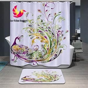 Paypal Zahlung In 14 Tagen Shops : 3d sport style carpet bathroom mats in 2019 peacock shower curtain cheap bathroom accessories ~ Watch28wear.com Haus und Dekorationen