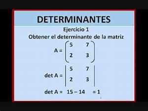 Determinante Berechnen 2x2 : determinantes youtube ~ Themetempest.com Abrechnung