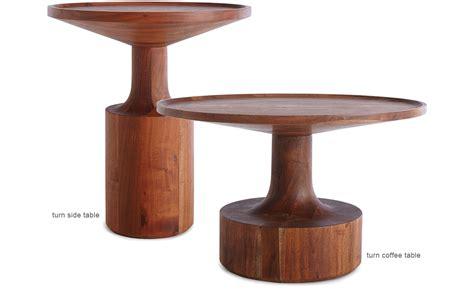 how tall are end tables turn tall side table hivemodern com