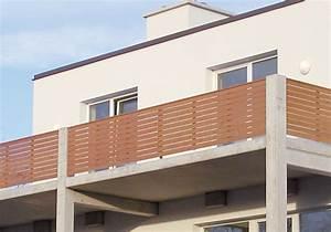 balkon holz waagerecht kreative ideen fur With französischer balkon mit gartenzaun lärchenholz