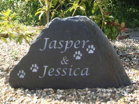 pet memorial garden stones garden pet memorials in slate york sandstone uk