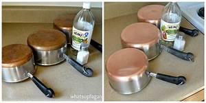 Nettoyer Du Cuivre : nettoyer et faire briller les fonds de casseroles en ~ Melissatoandfro.com Idées de Décoration