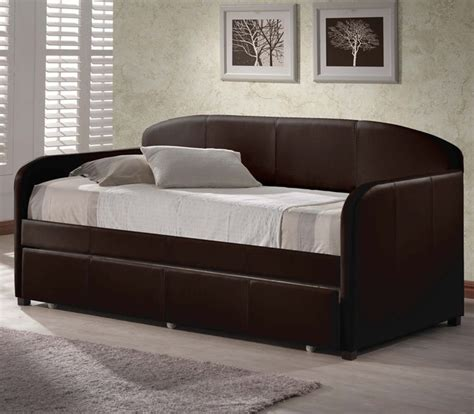 Twin Bedroom Sets For Adults by Springfield Daybed With Trundle Brown Modern Daybeds
