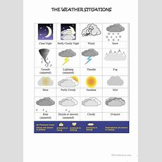 How Is The Weather Today? Worksheet  Free Esl Printable Worksheets Made By Teachers