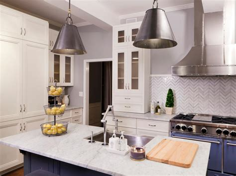 white kitchen cabinets with white marble countertops marble kitchen countertop options hgtv 2215