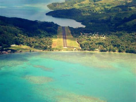 Airplane Runway Kadavu Fiji Islands Adventures In