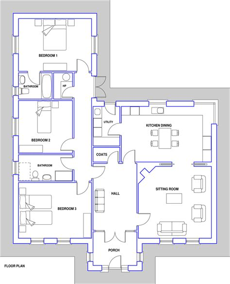 House Plans Pictures by House Plans No 13 Lakefield Blueprint Home Plans