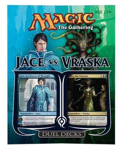 Magic The Gathering Jace Vs Vraska Duel Deck  Import It All
