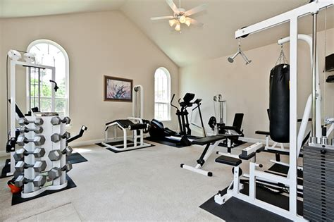 home gym traditional home gym dallas by james hurt