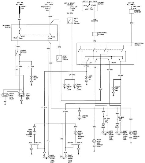 73 Chevy C10 Wire Diagram by 69 Wiring Diagram Diagrams