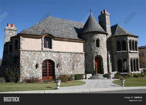 fresh castle style houses castle style home stock photo stock images bigstock