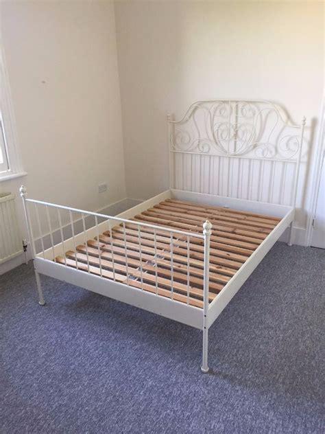 ikea leirvik bed ikea leirvik bed frame 140x200cm in clapham