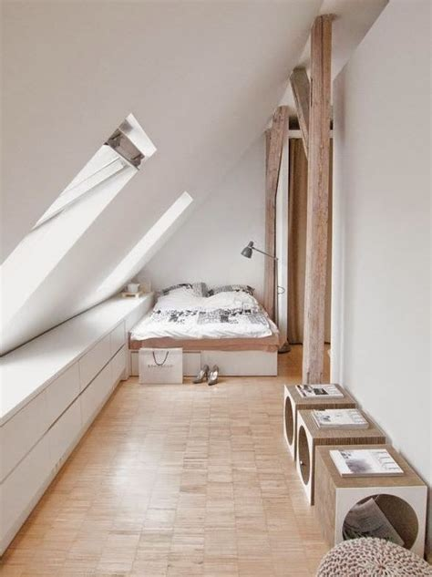 Ideen Dachschräge by Schlafzimmer Mit Schr 228 Ge Einrichten