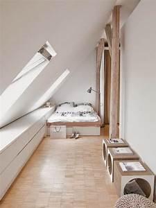 Zimmer Günstig Einrichten : schlafzimmer mit schr ge einrichten ~ Bigdaddyawards.com Haus und Dekorationen