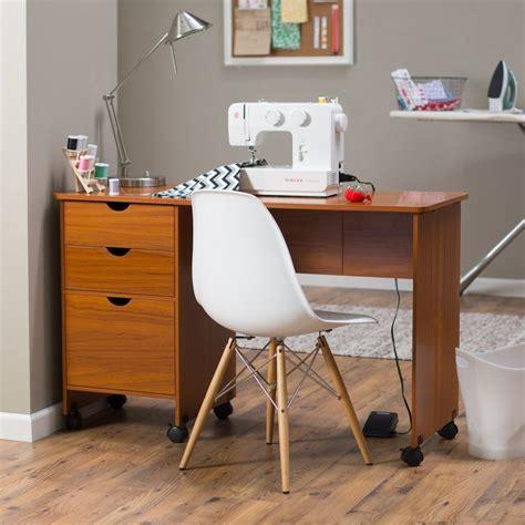 beldin mobile sewing desk american oak the beldin