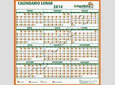 Calendario Lunar 2014 Agrobeta Agrobeta