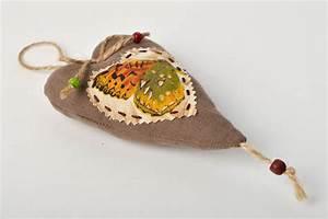 Deko Vögel Zum Aufhängen : madeheart deko zum aufh ngen handmade stoff herz dekoration wohnzimmer wand deko ~ Orissabook.com Haus und Dekorationen