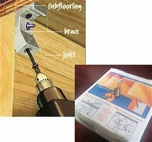 Tools accessories squeaky floor repair squeak relief for How to fix squeaky hardwood floors from above