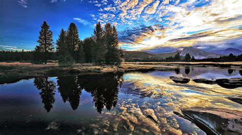 Tuolumne River County California United States 4k Ultra Hd