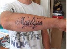 Tatouage Ecriture Gothique Avant Bras Tattooart Hd