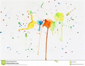 Tache De Couleur Peinture Fond Blanc : taches de peinture d 39 aquarelle sur un livre blanc image stock image 31485071 ~ Melissatoandfro.com Idées de Décoration