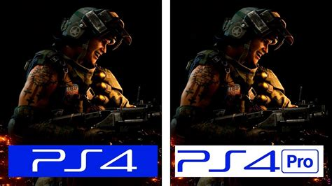 call  duty black ops  ps  ps pro  graphics