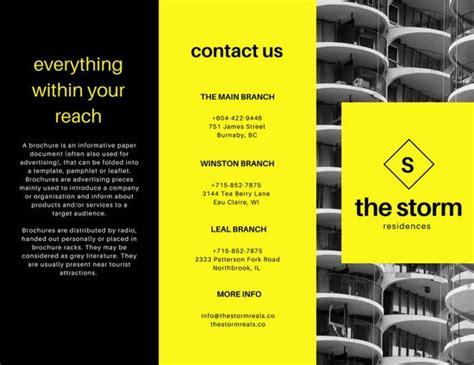 brochure templates canva