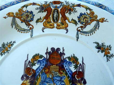 gien faience 28 images gien faience majolica renaissance 11 1 2 quot platter or chop from