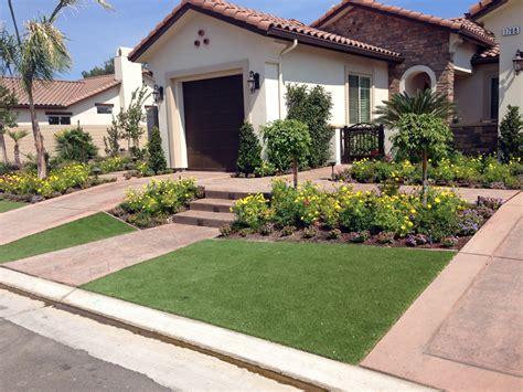 front yard lawn plastic grass marana arizona landscape ideas small front yard landscaping