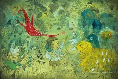 Illustration Filipino Children Childrens Philippines Illustrations Illustrators