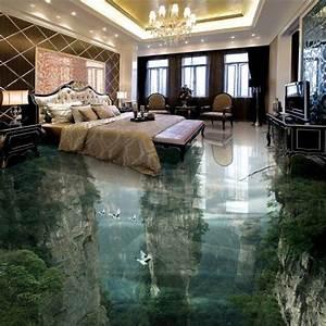 Bodenbelag Für Wohnzimmer : beibehang benutzerdefinierte boden verziert 3d tapete menschen wunderland spitze klippen ~ Sanjose-hotels-ca.com Haus und Dekorationen