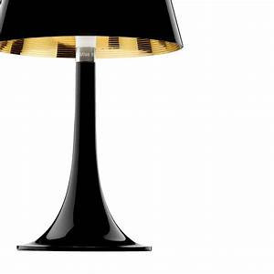 Flos miss k aluminized black for Flos miss k table lamp uk
