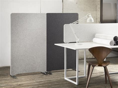 separateur de bureau edge table screen by lintex
