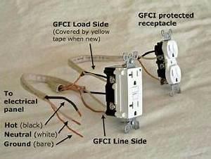 Gfci Load Wiring