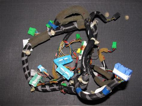 94 Civic Wiring Harnes by 96 97 98 Honda Civic Oem D16y8 Dash Speedometer Wiring