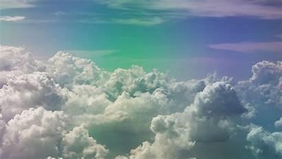 Clouds Sky Rainbow Porous 1080p Fhd Above